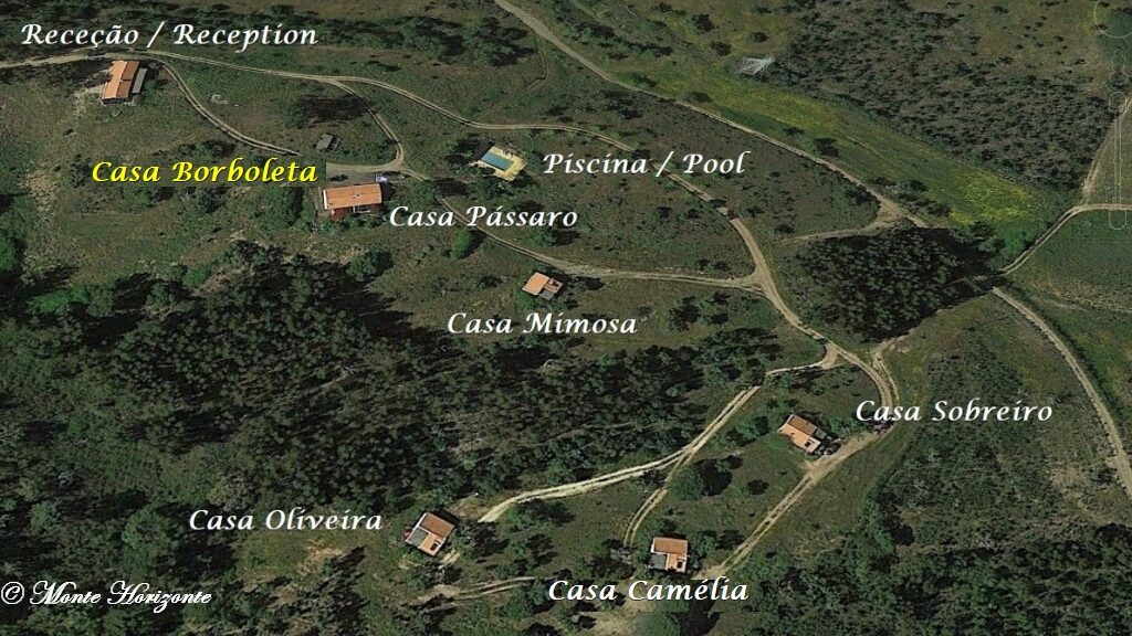 Portugal Vakantie Monte Horizonte Casa Borboleta