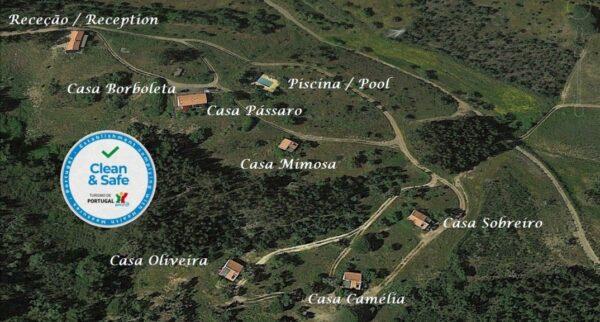 Vakantie Portugal Plattegrond Monte Horizonte