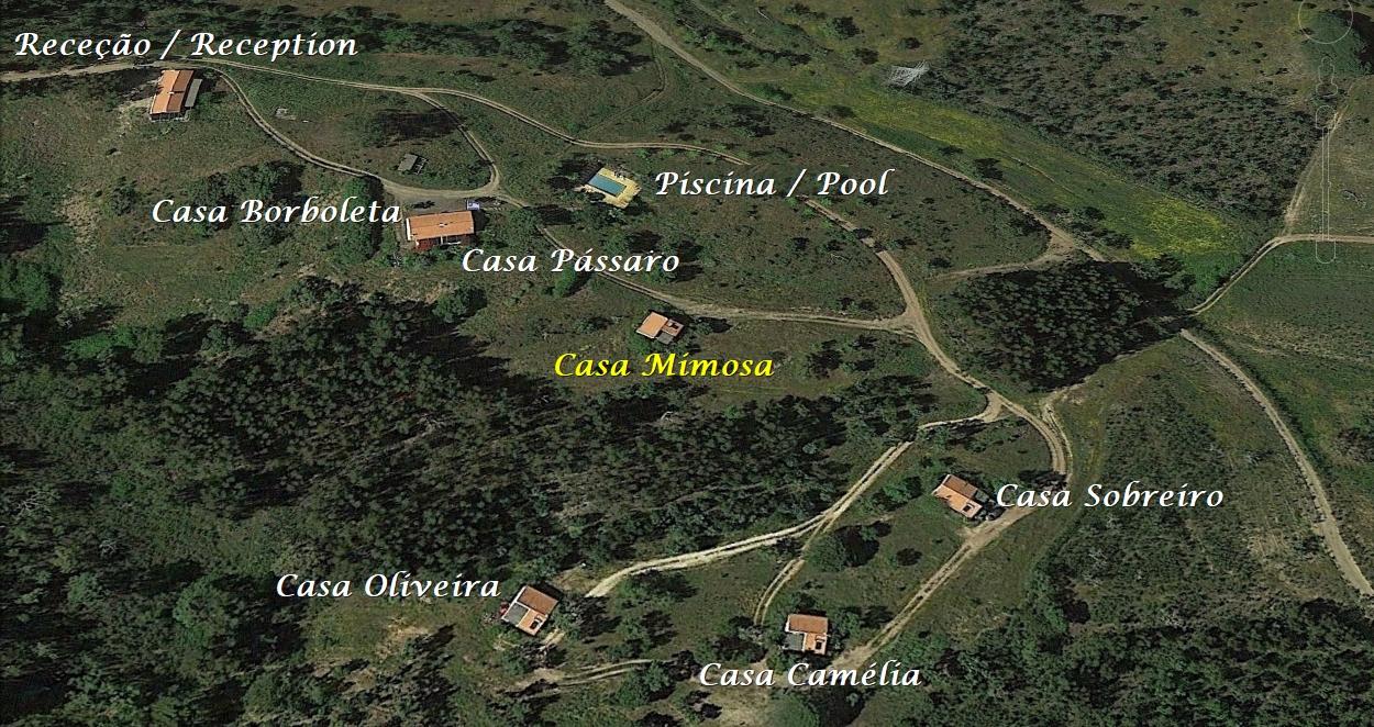 Portugal Vakantie Monte Horizonte Casa Mimosa
