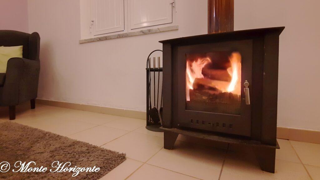 Portugal Vakantie Monte Horizonte Verwarming door Hotkachel